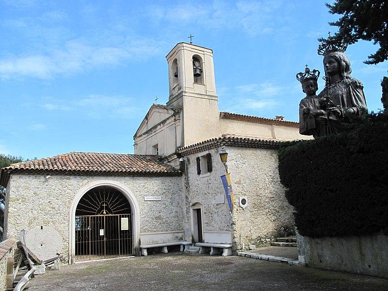 Photo du Monument Historique Chapelle de Saint-Hospice situé à Saint-Jean-Cap-Ferrat