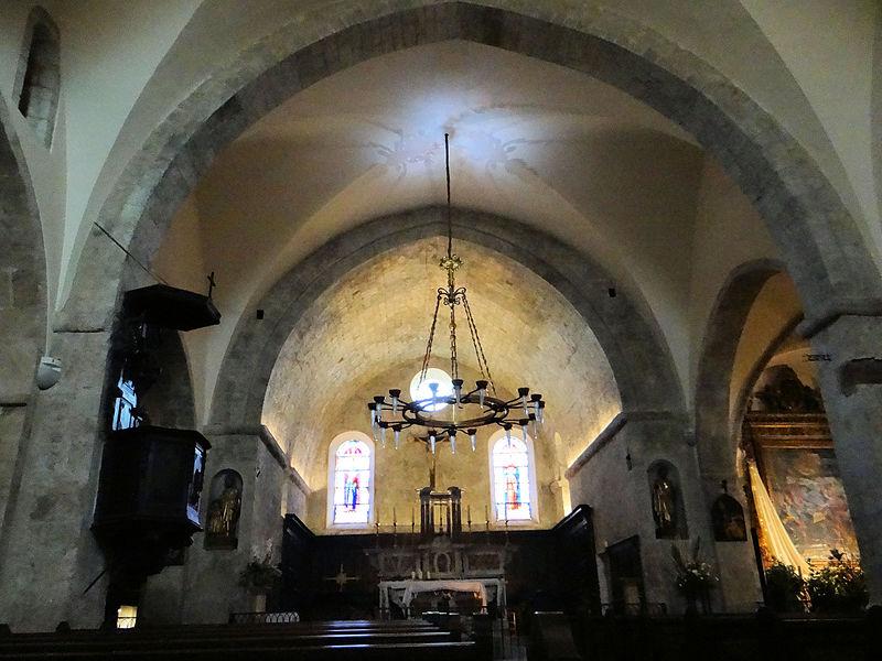 Photo du Monument Historique Eglise de la Conversion de Saint-Paul situé à Saint-Paul