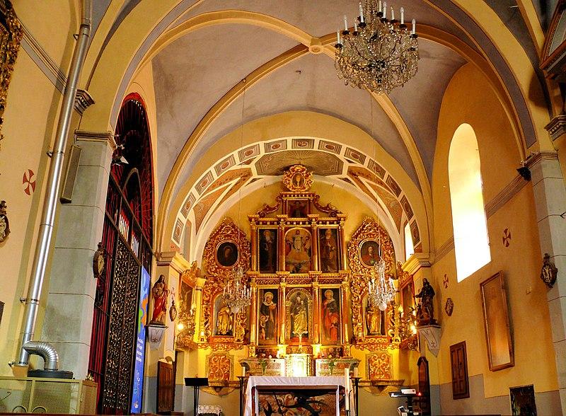Photo du Monument Historique Eglise situé à Saint-Sauveur-sur-Tinée