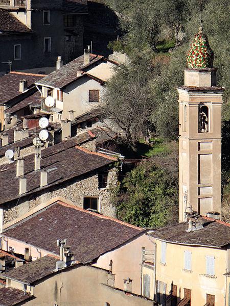 Photo du Monument Historique Chapelle des Pénitents Noirs ou de Saint-Claude situé à Saorge