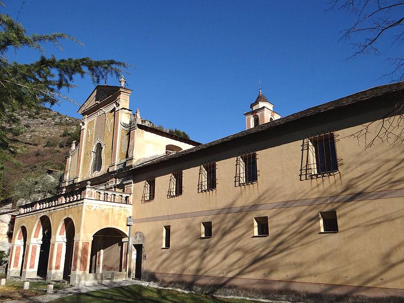 Photo du Monument Historique Ancien couvent des Franciscains situé à Saorge