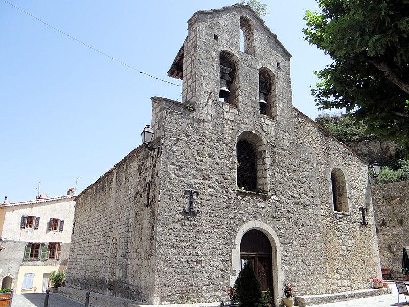Photo du Monument Historique Eglise des Templiers situé à Sigale