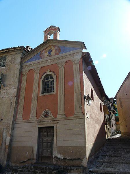 Photo du Monument Historique Chapelle des Pénitents Gris situé à Sospel