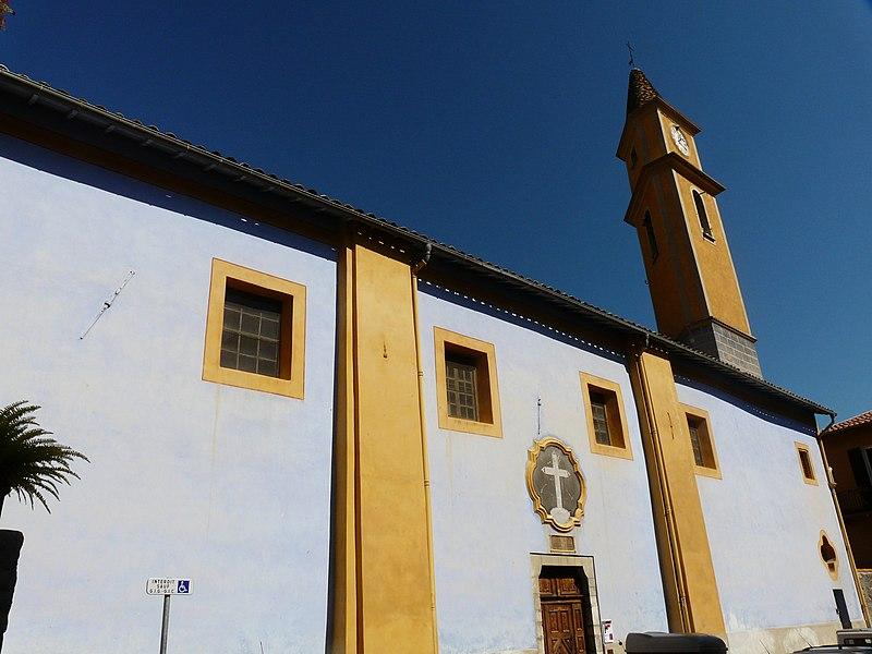 Photo du Monument Historique Chapelle Sainte-Croix ou des Pénitents Blancs situé à Sospel