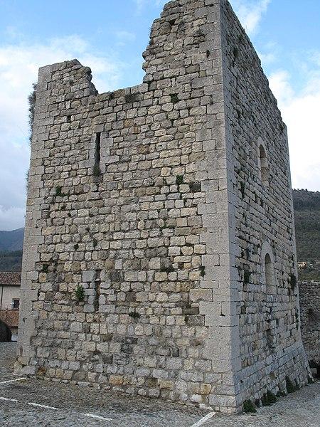 Photo du Monument Historique Chateau situé à Sospel
