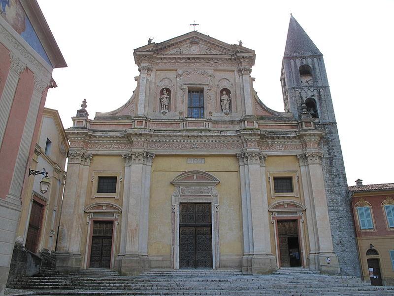 Photo du Monument Historique Eglise Saint-Michel situé à Sospel