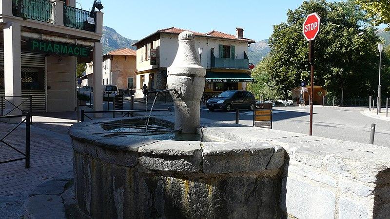 Photo du Monument Historique Fontaine situé à Sospel