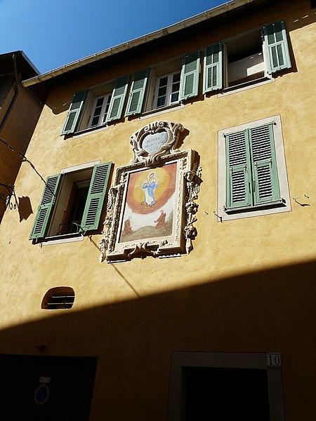 Photo du Monument Historique Hospice situé à Sospel
