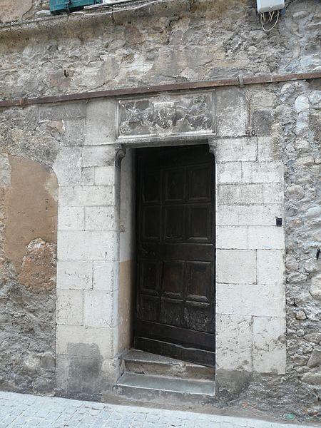 Photo du Monument Historique Maisons situé à Sospel