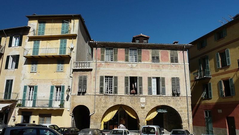 Photo du Monument Historique Maison Romane situé à Sospel