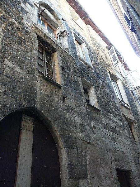 Photo du Monument Historique Palais de la Gabelle situé à Sospel