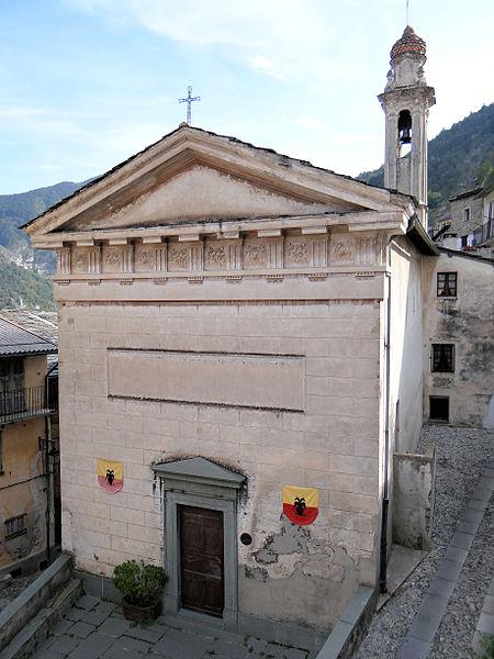 Photo du Monument Historique Chapelle de la Miséricorde situé à Tende