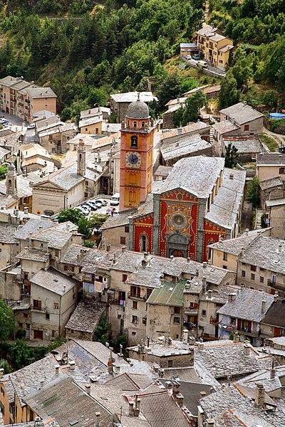 Photo du Monument Historique Cathédrale situé à Tende