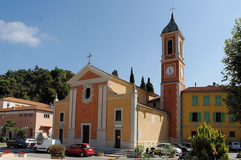 Photo du Monument Historique Eglise situé à Tourrette-Levens