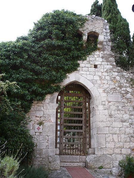 Photo du Monument Historique Enceinte du Moyen-âge (restes de l') situé à La Turbie