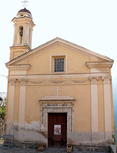 Photo du Monument Historique Chapelle des Pénitents Blancs situé à Utelle