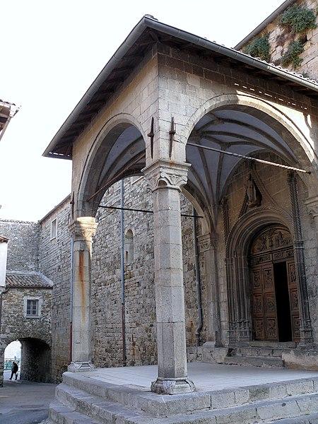 Photo du Monument Historique Eglise Saint-Veran situé à Utelle