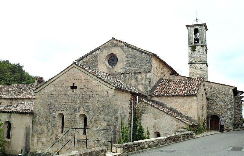 Photo du Monument Historique Abbaye situé à Valbonne