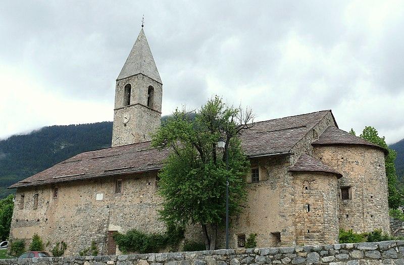 Photo du Monument Historique Eglise Saint-Dalmas-du-Plan situé à Valdeblore