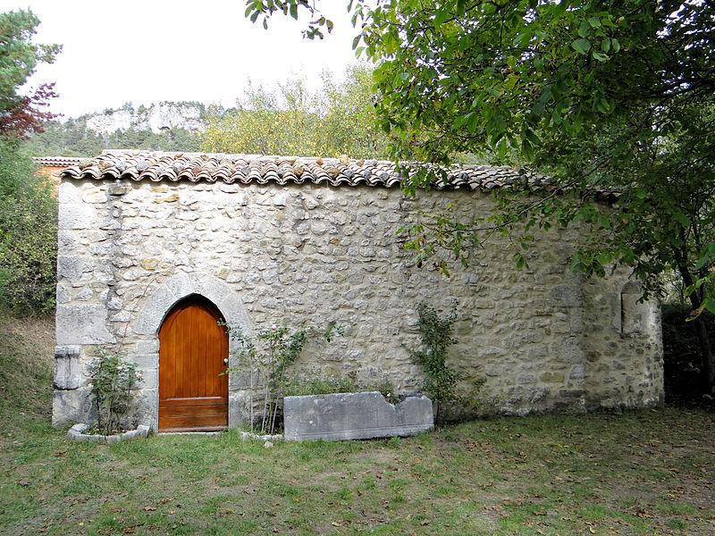 Photo du Monument Historique Chapelle Saint-Léonce (vestiges) situé à Valderoure