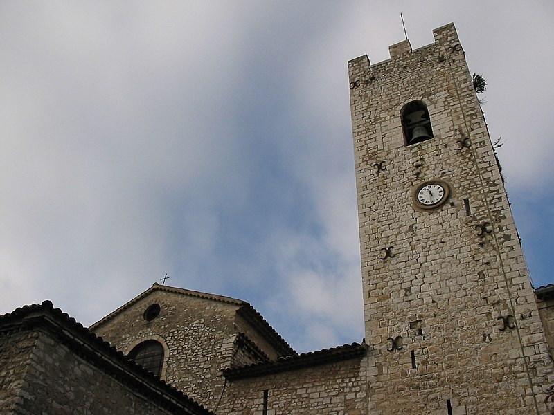 Photo du Monument Historique Ancienne cathédrale de la Nativité-de-Notre-Dame situé à Vence