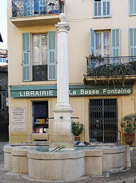 Photo du Monument Historique Fontaine de la Foux situé à Vence
