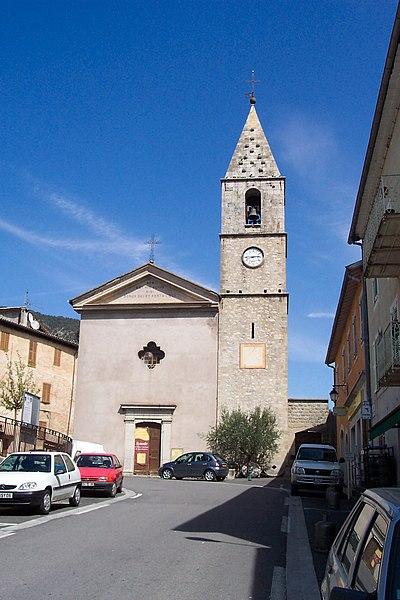 Photo du Monument Historique Eglise situé à Villars-sur-Var