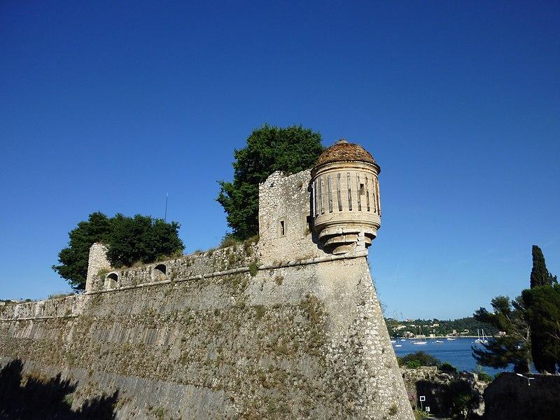 Photo du Monument Historique Citadelle situé à Villefranche-sur-Mer