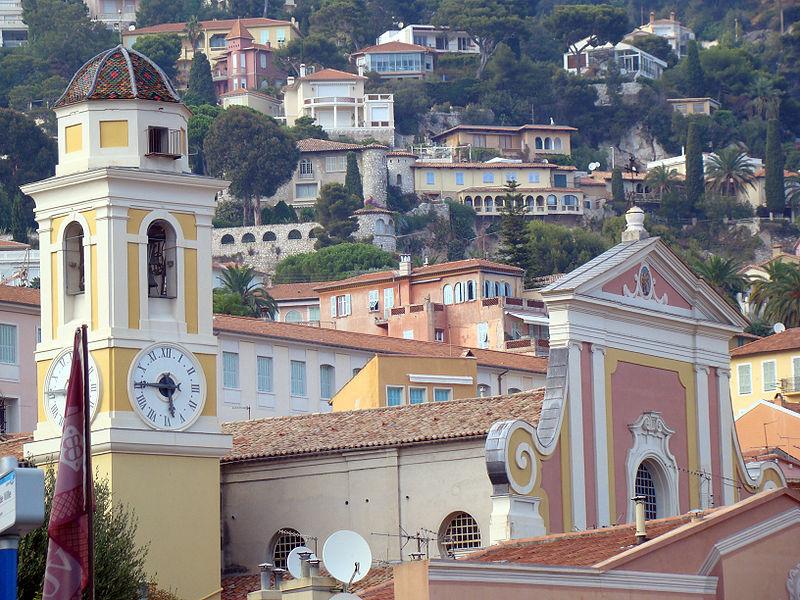 Photo du Monument Historique Eglise paroissiale Saint-Michel situé à Villefranche-sur-Mer