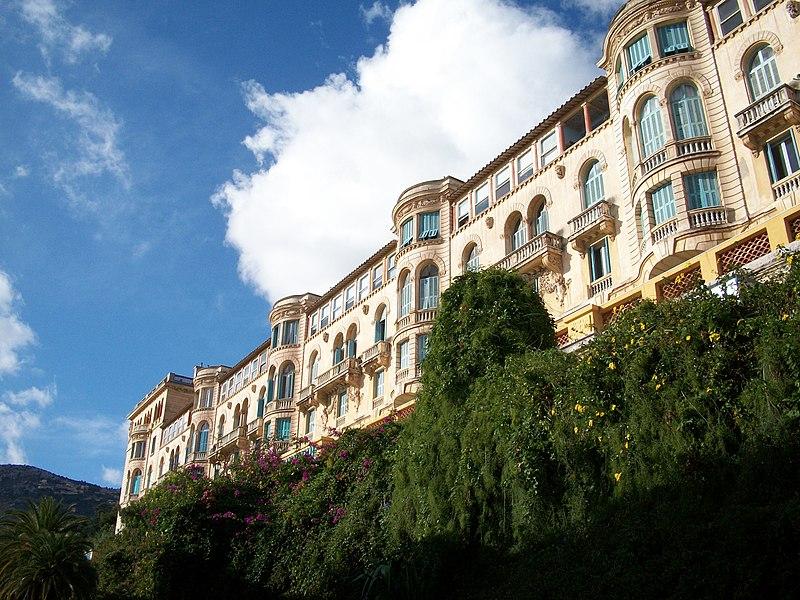 Photo du Monument Historique Riviera Palace situé à Beausoleil