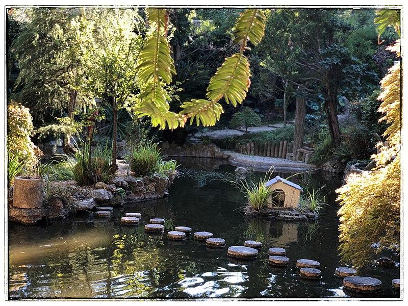 Photo du Monument Historique Parc et jardins de Champfleuri situé à Cannes