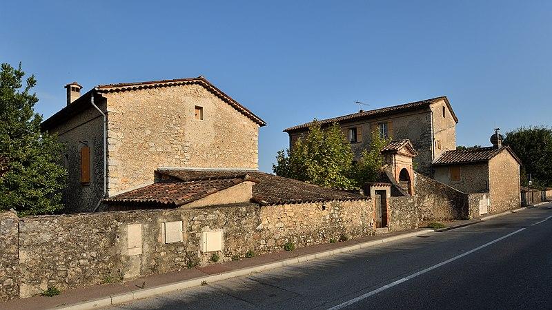 Photo du Monument Historique Domaine de la Ferrage situé à Grasse