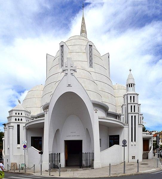 Photo du Monument Historique Eglise Sainte-Jeanne d'Arc situé à Nice
