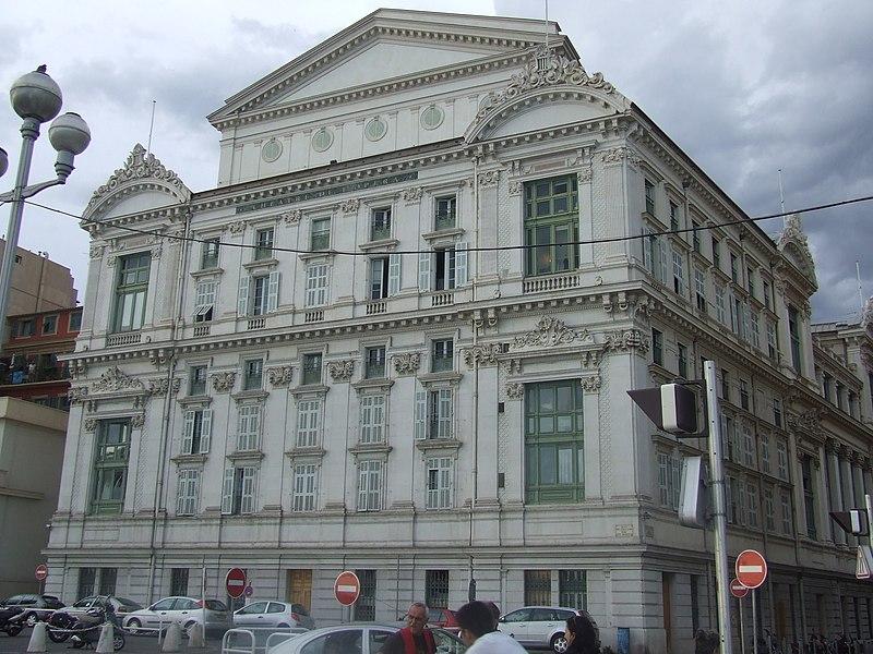 Photo du Monument Historique Opéra situé à Nice