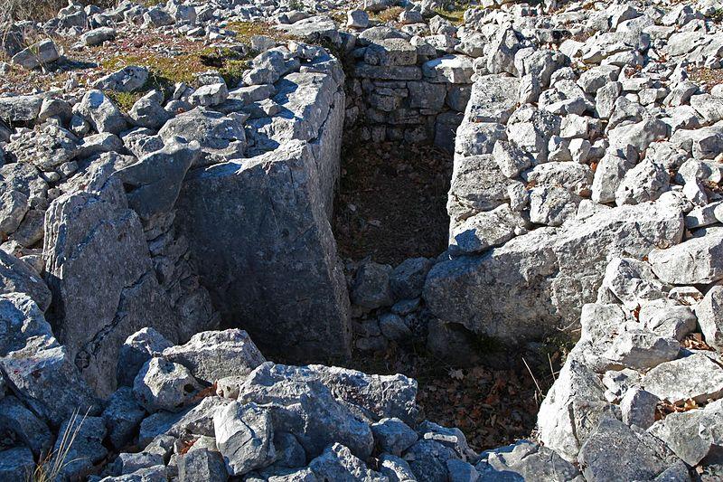 Photo du Monument Historique Dolmen et tombe en blocs de Mauvans Sud situé à Saint-Cézaire-sur-Siagne