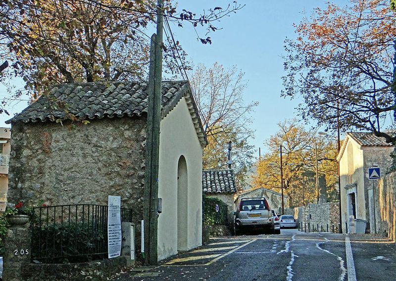 Photo du Monument Historique Calvaire situé à Vence