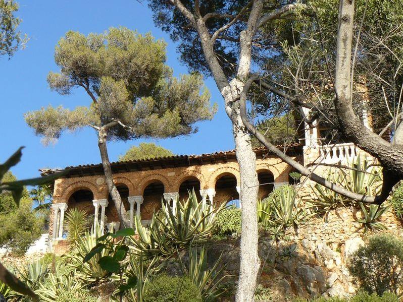 Photo du Monument Historique Propriété dite Villa Torre-Clementina situé à Roquebrune-Cap-Martin