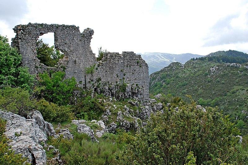 Photo du Monument Historique Castellaras de Thorenc situé à Andon