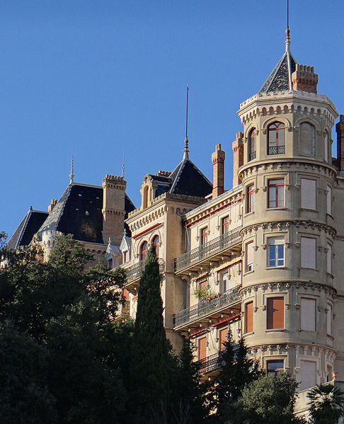 Photo du Monument Historique Parc Vallembrosa et ancien hôtel du Parc situé à Cannes
