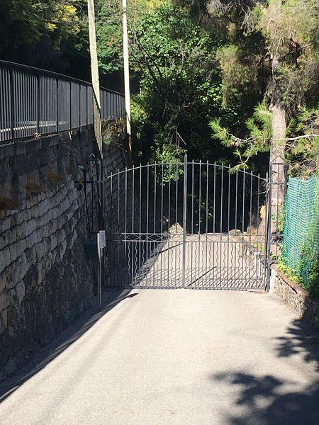 Photo du Monument Historique Villa d'Andon, située quartier Magagnosc situé à Grasse