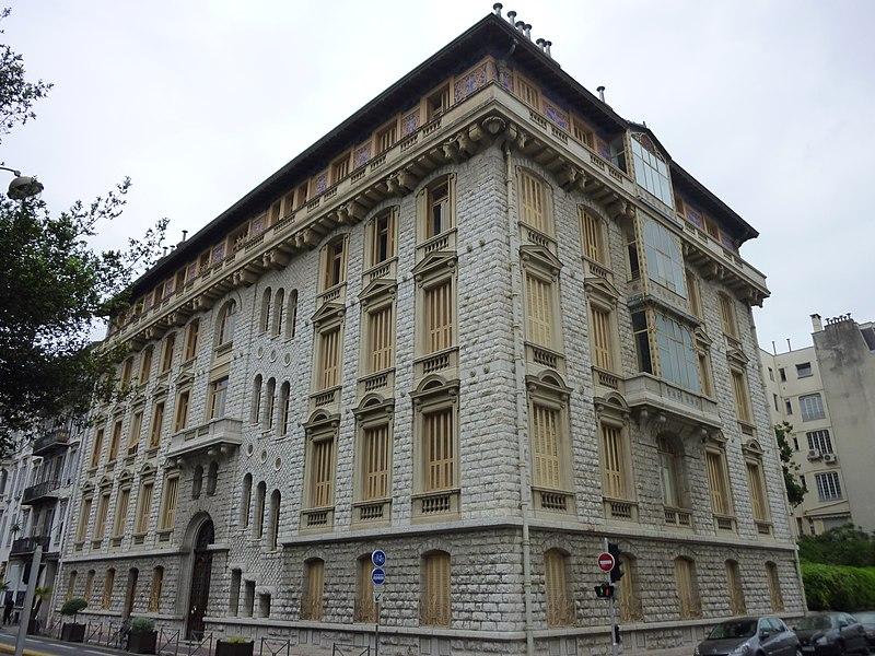 Photo du Monument Historique Palais Baréty situé à Nice