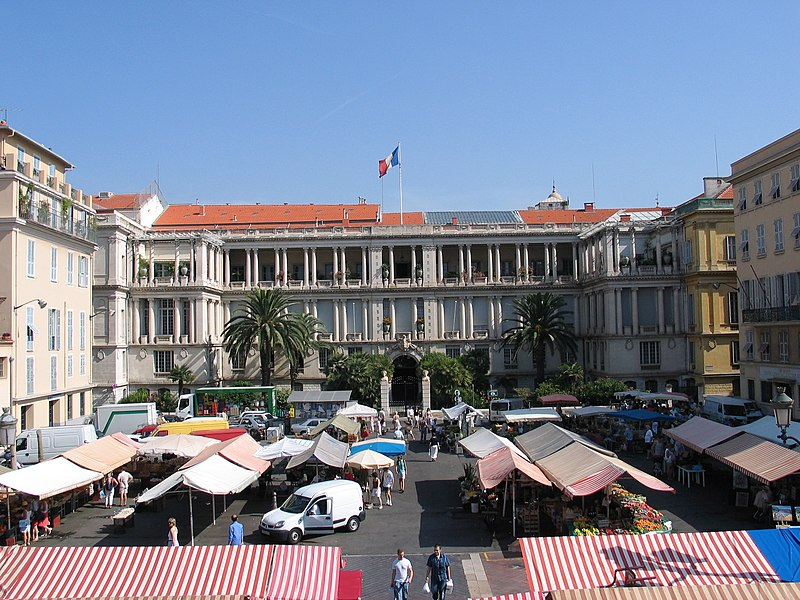 Photo du Monument Historique Palais de la Préfecture, ancien palais des rois de Sardaigne situé à Nice