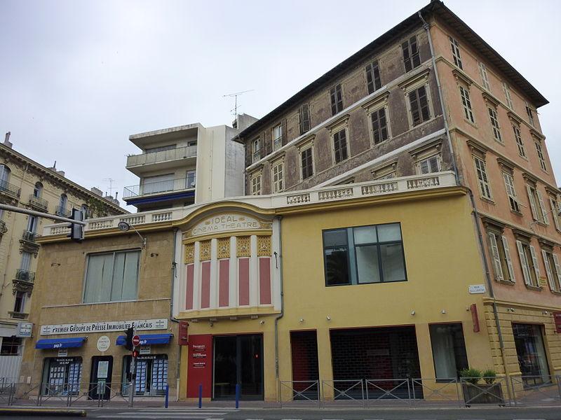 Photo du Monument Historique Immeuble Garacci-Bensa situé à Nice