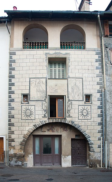 Photo du Monument Historique Maison de Sébastien Fabri situé à Saint-Etienne-de-Tinée