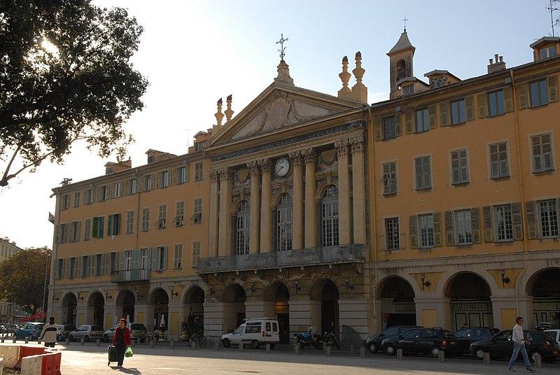 Photo du Monument Historique Chapelle de la confrérie du Saint-Sépulcre ou des Pénitents bleus situé à Nice