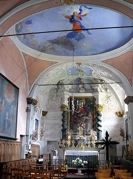 Photo du Monument Historique Chapelle de la Miséricorde ou des Pénitents noirs situé à Saint-Martin-Vésubie