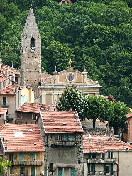 Photo du Monument Historique Eglise paroissiale Notre-Dame de l'Assomption situé à Saint-Martin-Vésubie
