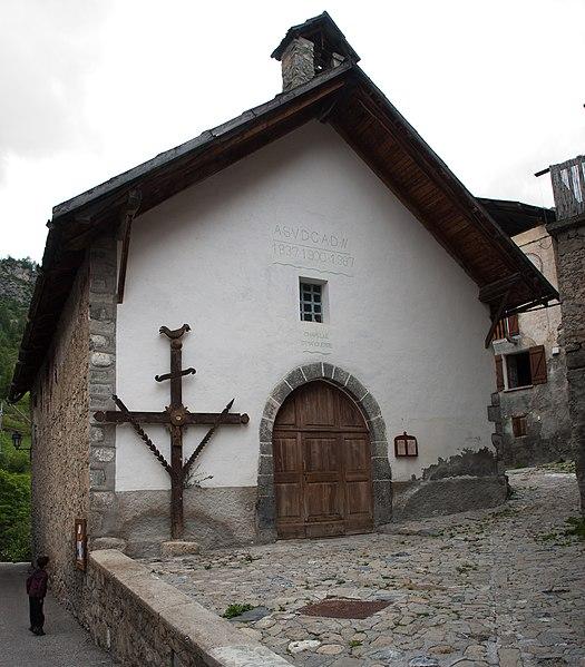 Photo du Monument Historique Chapelle Sainte-Marguerite situé à Saint-Dalmas-le-Selvage