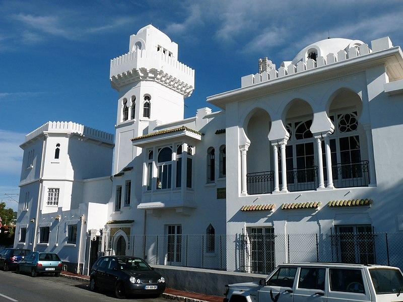 Photo du Monument Historique Villa El Djézaïr, à Juan-les-Pins situé à Antibes
