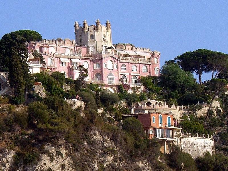 Photo du Monument Historique Château de l'Anglais situé à Nice